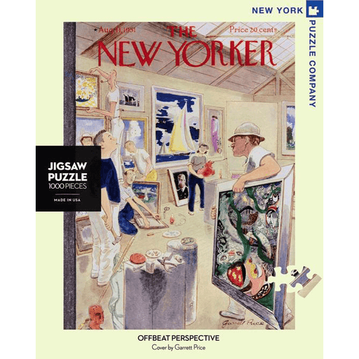 Puzzle (1000pc) New Yorker : Offbeat Perspective