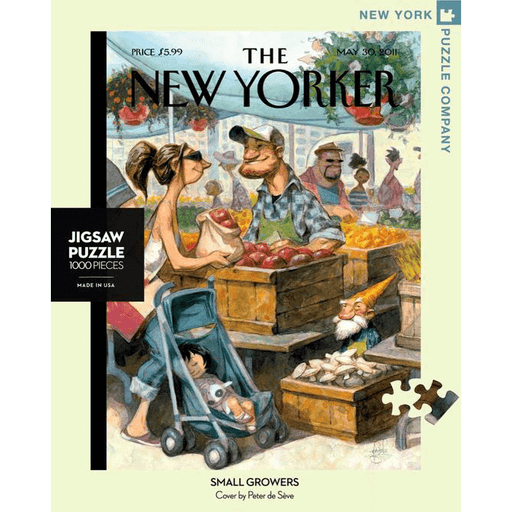 Puzzle (1000pc) New Yorker : Small Growers