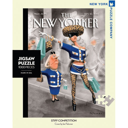 Puzzle (1000pc) New Yorker : Stiff Competition