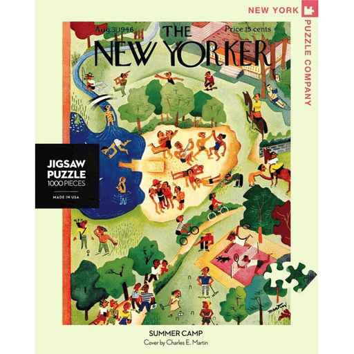 Puzzle (1000pc) New Yorker : Summer Camp