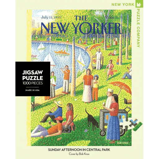 Puzzle (1000pc) New Yorker : Sunday Afternoon in Central Park