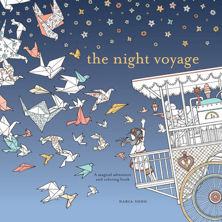 Coloring Book The Night Voyage