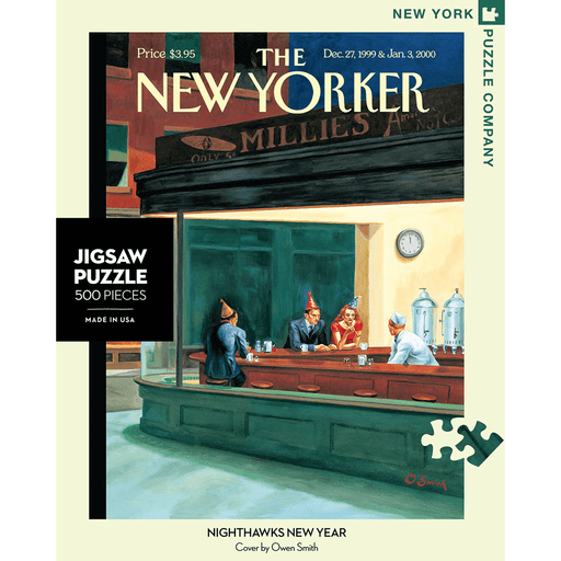 Puzzle (500pc) New Yorker : Nighthawks New Year