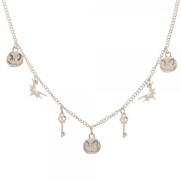 Nightmare Before Christmas Charm Necklace