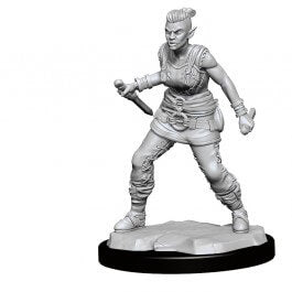 Mini - D&D Nolzur's Marvelous : Orc Barbarian (Female)
