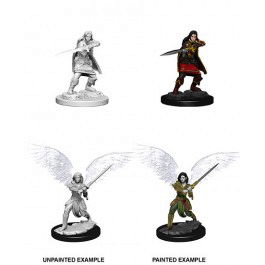 Mini - D&D Nolzur's Marvelous : Aasimar Fighter (Female)