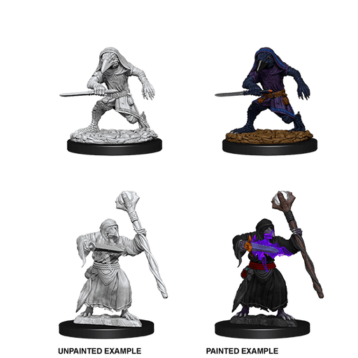 Mini - D&D Nolzur's Marvelous : Kenku Adventurers