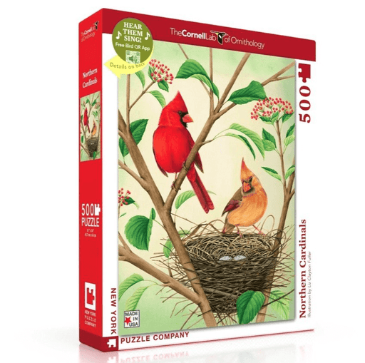Puzzle (500pc) Cornell Lab of Ornithology : Northern Cardinals