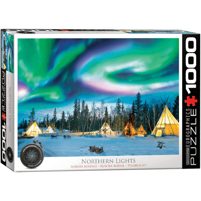 Puzzle (1000pc) HDR Photography : Northern Lights