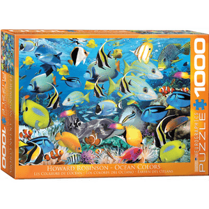 Puzzle (1000pc) Animal Life Photography : Ocean Colors