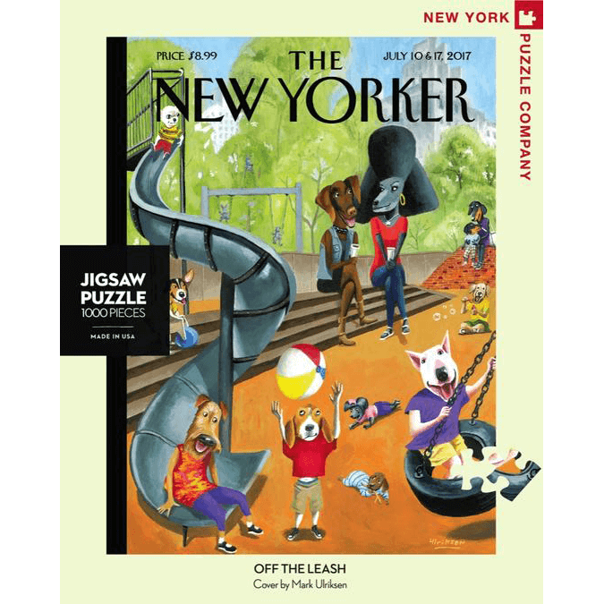 Puzzle (1000pc) New Yorker : Off the Leash