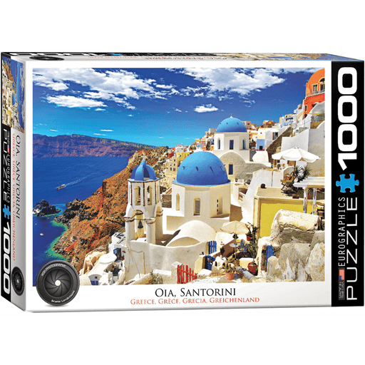 Puzzle (1000pc) HDR Photography : Oia Santorini Greece