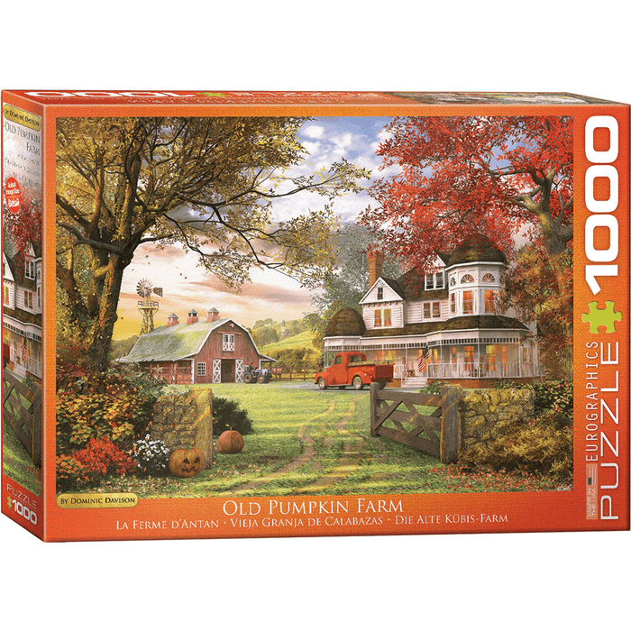 Puzzle (1000pc) Artist Series : Old Pumpkin Farm