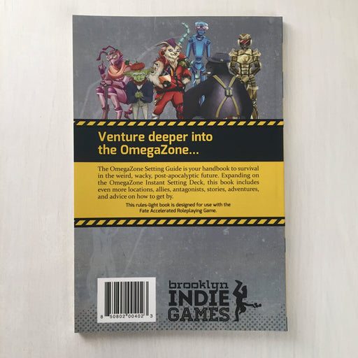 Omega Zone Setting Guide Book