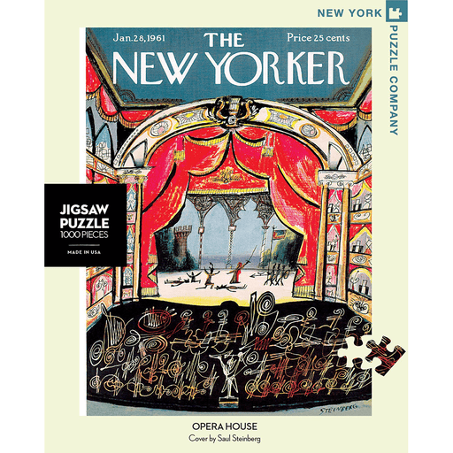Puzzle (1000pc) New Yorker : Opera House