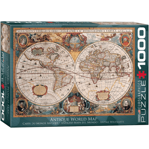 Puzzle (1000pc) Maps & Flags : Orbis Geographica World Map