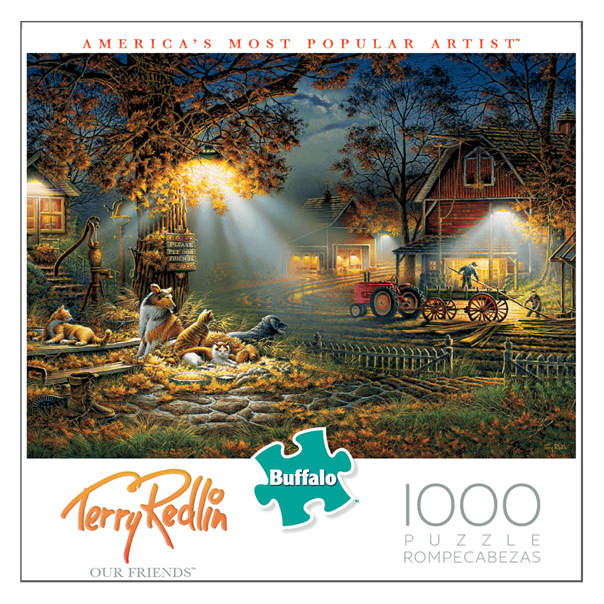 Puzzle (1000pc) Terry Redlin : Our Friends