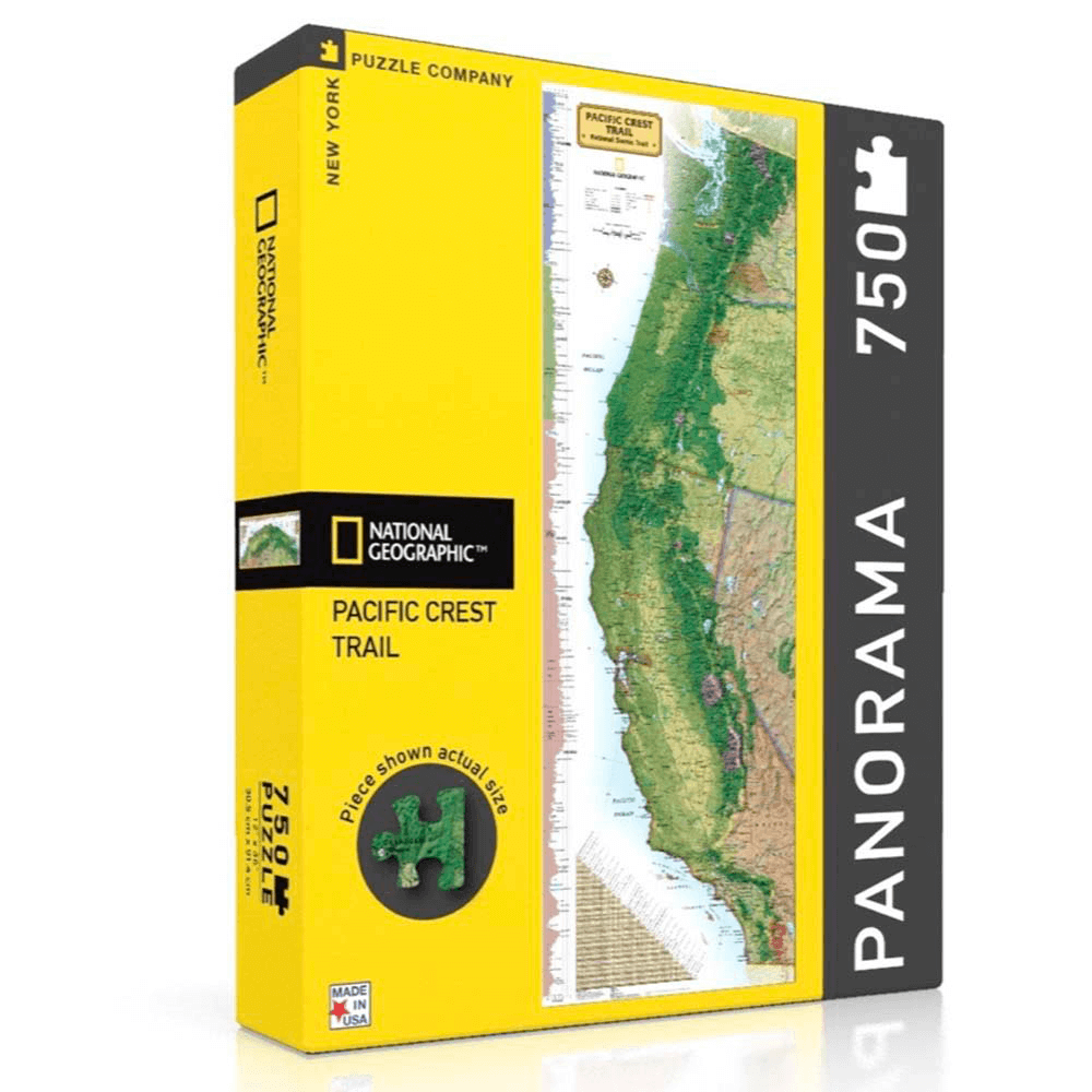 Puzzle (750pc) National Geographic : Pacific Crest Trail