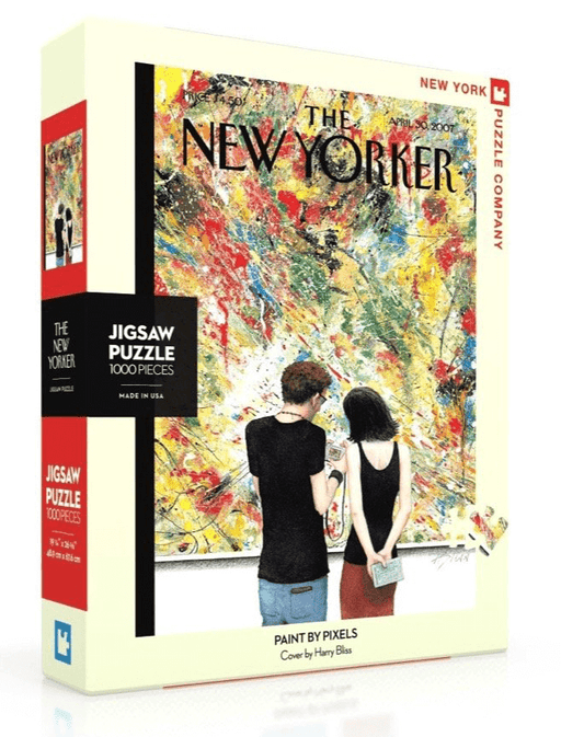 Puzzle (1000pc) New Yorker : Paint by Pixels
