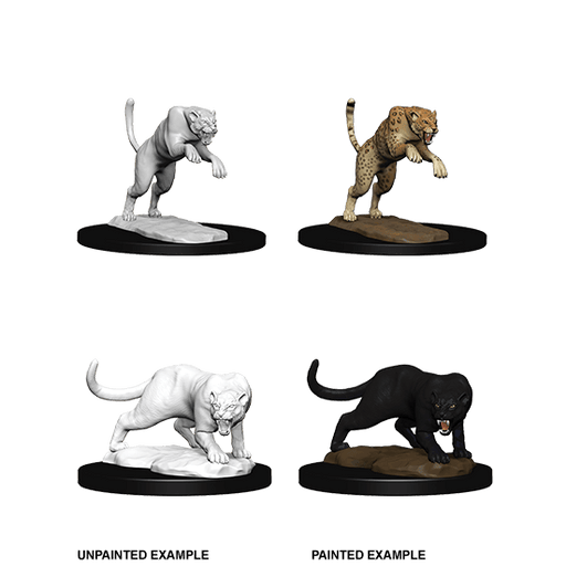Mini - D&D Nolzur's Marvelous : Panther & Leopard