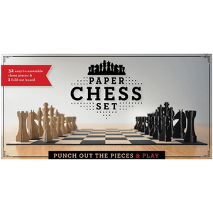 Chess Set Paper