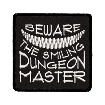 Patch (Iron On) Beware the Smiling DM