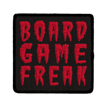 Patch (Iron On) Board Game Freak