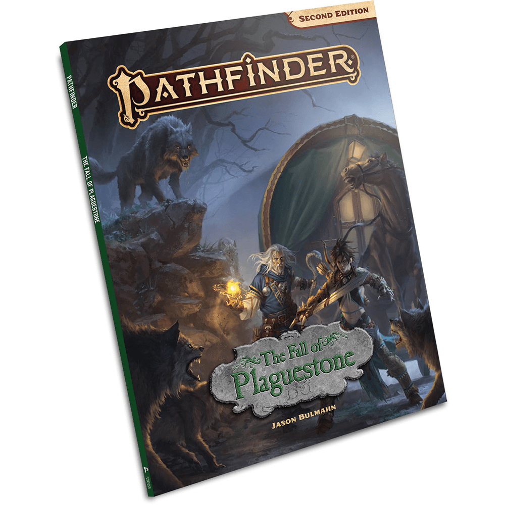 Pathfinder (2nd ed) Adventure : The Fall of Plaguestone