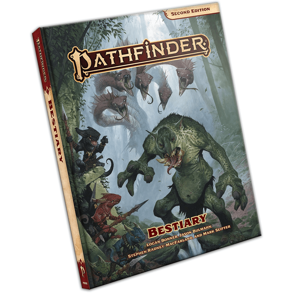 Pathfinder (2nd ed) Bestiary