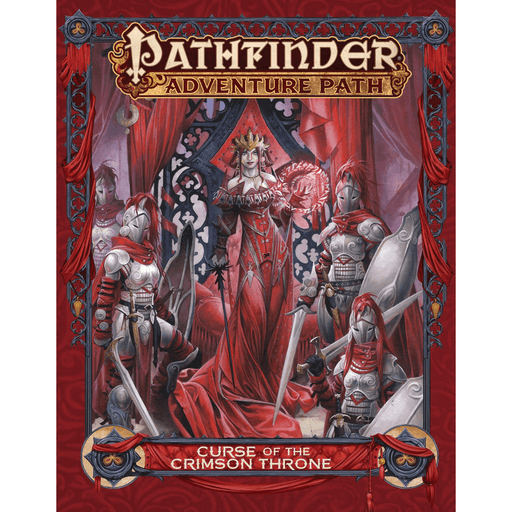 Pathfinder Adventure Path : Curse of the Crimson Throne