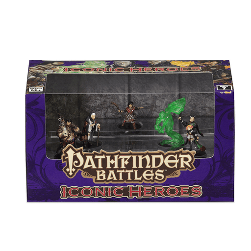 Mini - Pathfinder Battles : 7 Iconic Heroes