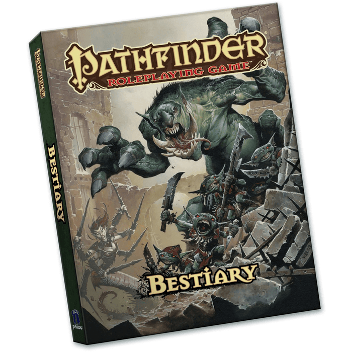 Pathfinder Bestiary	(Pocket Edition)
