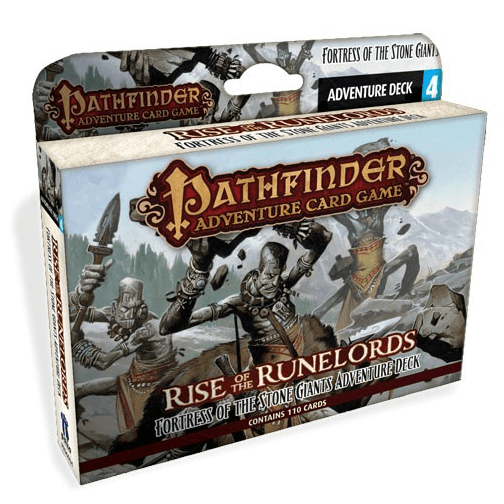 Pathfinder Adventure Card Game Rise of the Runelords : 4 Fortress Of The Stone Giants