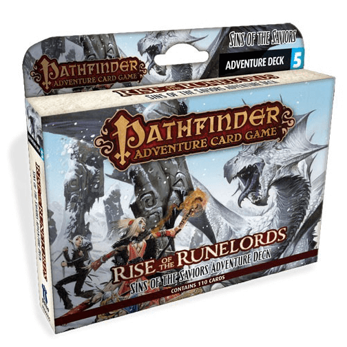 Pathfinder Adventure Card Game Rise of the Runelords : 5 Sins of the Saviors