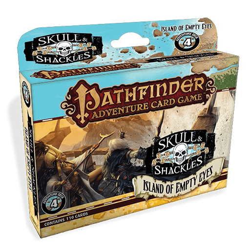 Pathfinder Adventure Card Game Skulls and Shackles : 4 Island of Empty Eyes