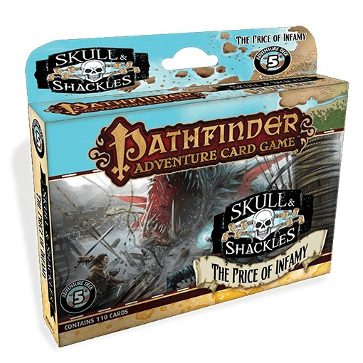 Pathfinder Adventure Card Game Skulls and Shackles : 5 The Price of Infamy