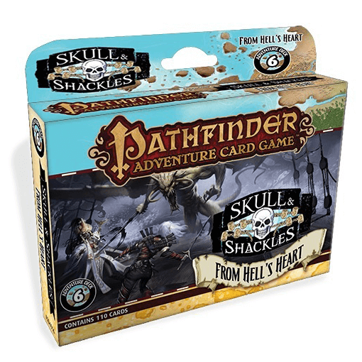 Pathfinder Adventure Card Game Skulls and Shackles : 6 From Hell's Heart