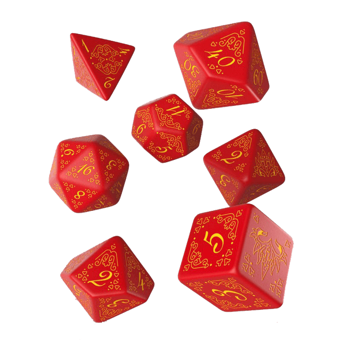 Dice 7-set Pathfinder (16mm) Curse of the Crimson Throne