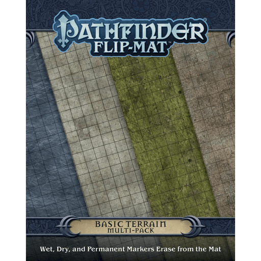 Battlemap Pathfinder Flip Mat (Multi-Pack) Basic Terrain