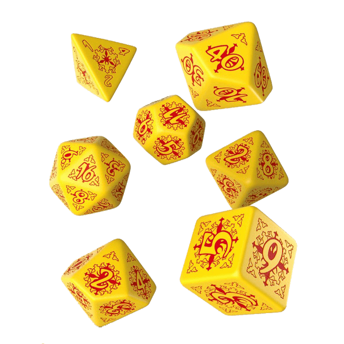 Dice 7-set Pathfinder (16mm) Legacy of Fire