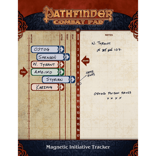 Pathfinder Magnetic Combat Pad (2nd ed)