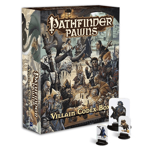 Pathfinder Pawns Villain Codex Box