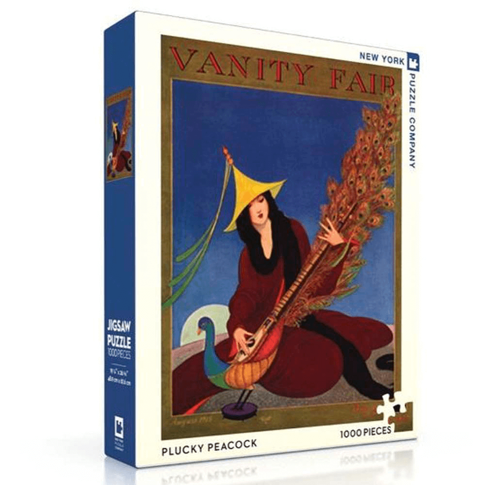 Puzzle (750pc) Vanity Fair : Peacock Sitar