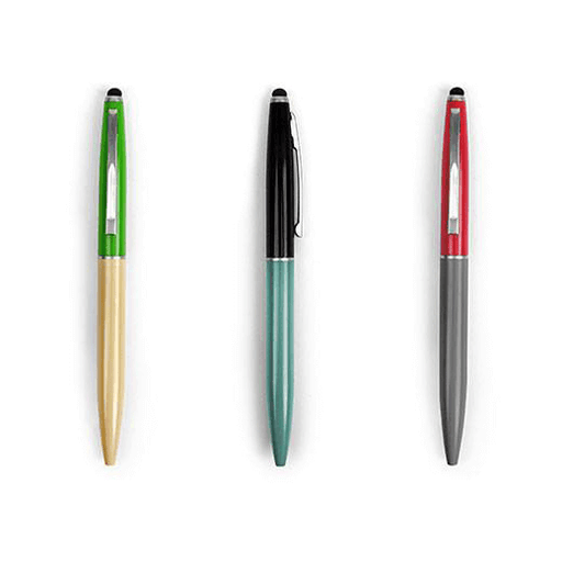 Pen Set Retro Mini + Stylus (2ct)