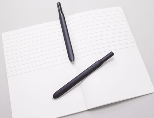 Pen (Ballpoint) Writersblok Bookmark Black