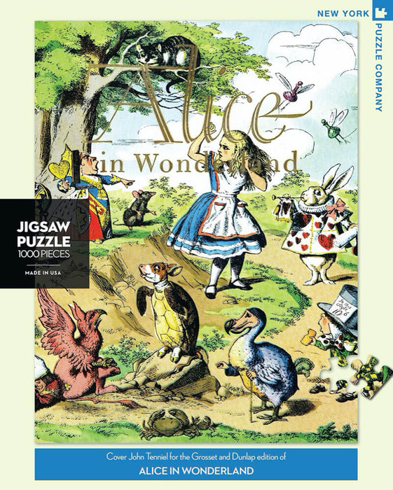 Puzzle (1000pc) Penguin Random House : Alice in Wonderland