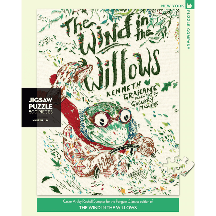 Puzzle (500pc) Penguin Random House :  The Wind in the Willows