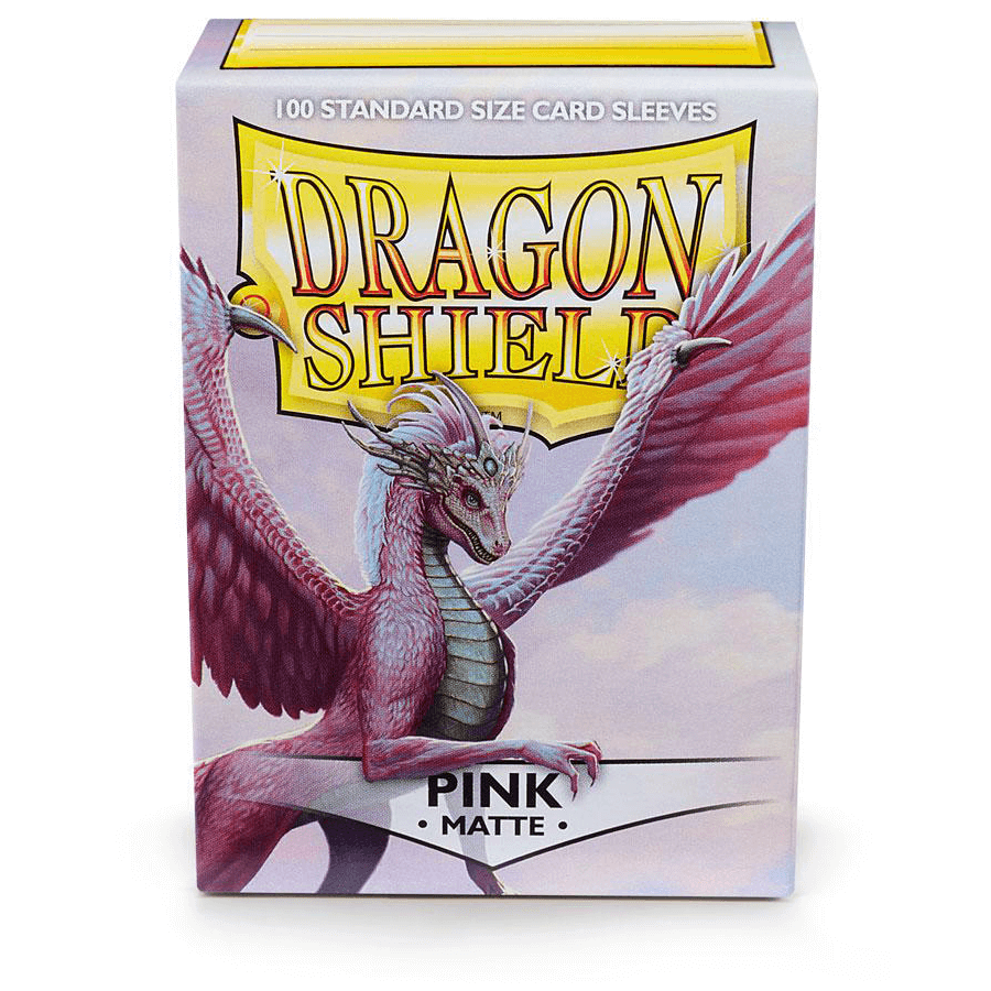 Sleeves Dragon Shield (100ct) Matte : Pink