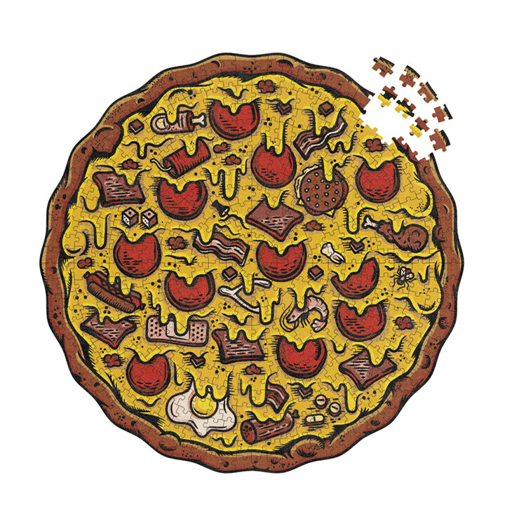 Puzzle (550pc) Pizza : Meat Lover's
