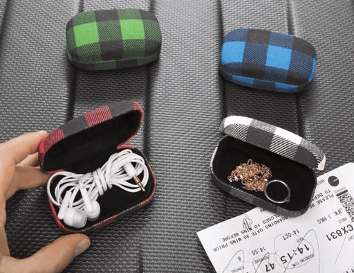 Plaid Travel Case